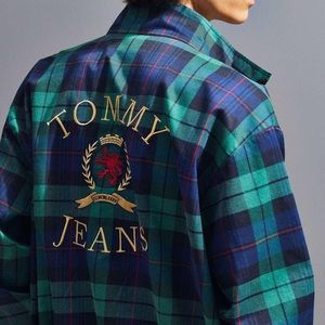 Tommy Jeans vintage checked jacket